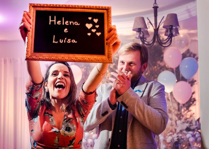 Foto do evento Chá Revelação da Luísa e da Helena